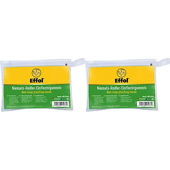 Effol Non-Snap Plaiting Bands (400 Pack)