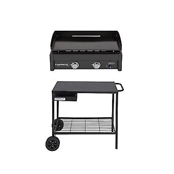 Campingaz Plancha Barbecue Bundle With Plancha L + Plancha BBQ Trolley