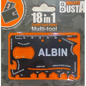 Carte de débit multitool Multitool ALBIN carte de débit