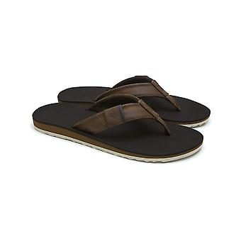 Rip Curl P-Low 2 Flip Flops in Tan/Brown