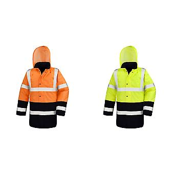 Resultat Mens Two Tone Safety Coat
