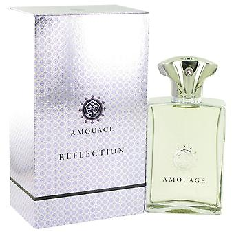 Amouage Reflection Eau De Pafum Spray By Amouage 3.4 oz Eau De Pafum Spray