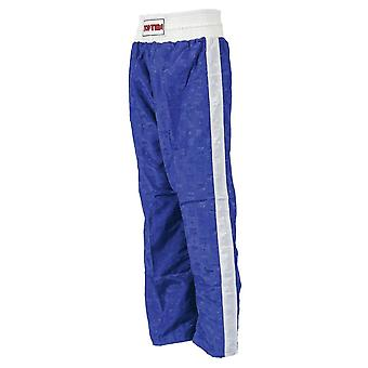 Top Ten Adult Classic Kickboxing Pants Blue/White