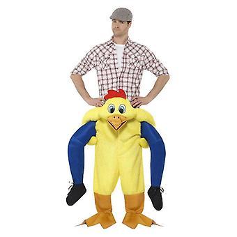 Piggyback Kylling kostume