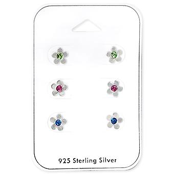 Flower - 925 Sterling Silver Sets - W33232x
