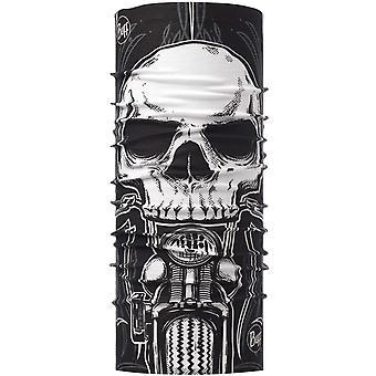 Buff Unisex Skull Rider Original Protective Outdoor Tubular Bandana Scarf Black