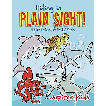 Hiding in Plain Sight Hidden Pictures Activity Book by Jupiter Kids