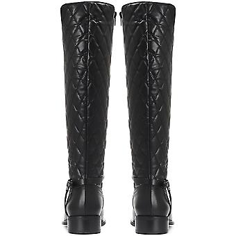 Jones Bootmaker Womens Quilted Leather Knee High Boot