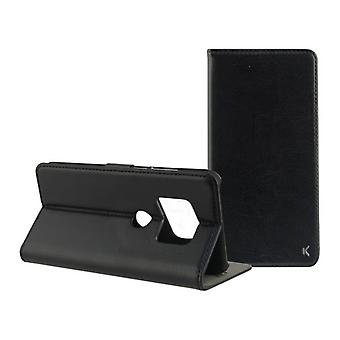Folio Telefono Cellulare Caso Huawei Mate 20 KSIX Nero