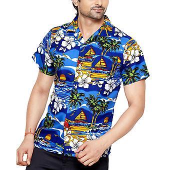 Club cubana men's slim fit classic short sleeve casual shirt cdkupb683