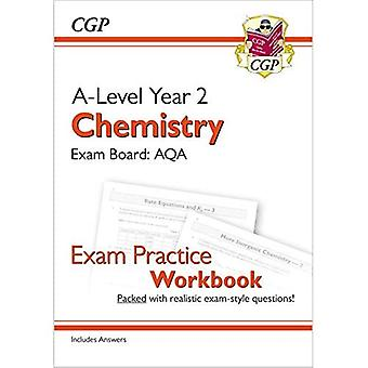 New A-Level Chemistry for 2018: AQA Year 2 Exam Practice Workbook - includes Answers