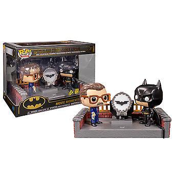 Batman Light Up Bat-Signal 80 Ann. Momente film Pop!