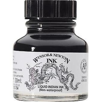 Winsor & Newton Drawing Ink Bottle, 30 ml - Liquid Indian