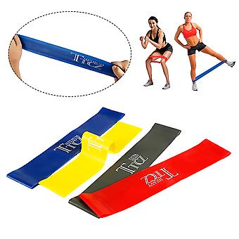 Multifunktionales Yoga Resist Band Set (4-Pack) Workout Strap
