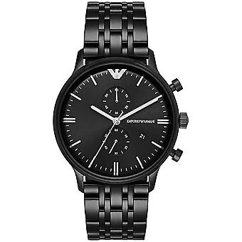 Armani Watches Ar1934 Black Stainless Steel Mens Watch