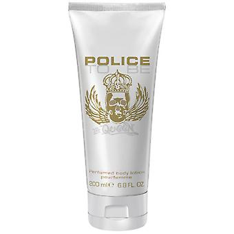 Polizei - Die Königin KÖRPER LOTION sein - 200ML
