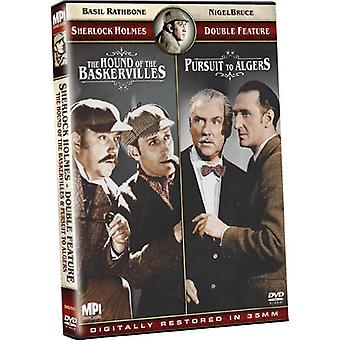 Hound of the Baskervilles/Pursuit in Algiers [DVD] USA import