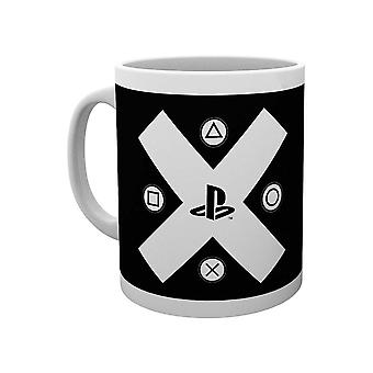 PlayStation, Mug - X