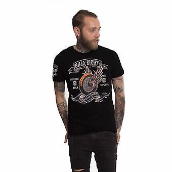 Billy eight - original racer - mens t-shirt - black