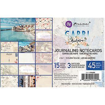 Prima Markkinointi Capri 4x6 Tuuman Päiväkirjakortit