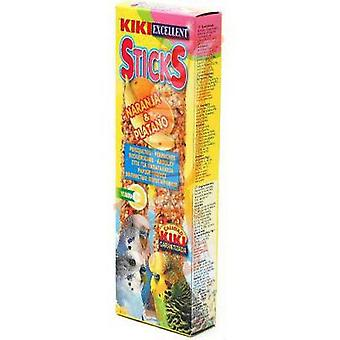 Kiki Parakeets Orange-Banana Bars 2 Pc Pack (Birds , Bird Treats)