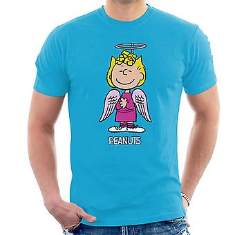Erdnüsse Halloween Angel Sally Brown Men's T-Shirt