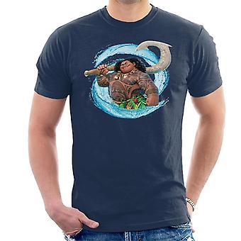 Disney Moana Maui spiral Wave män ' s T-shirt
