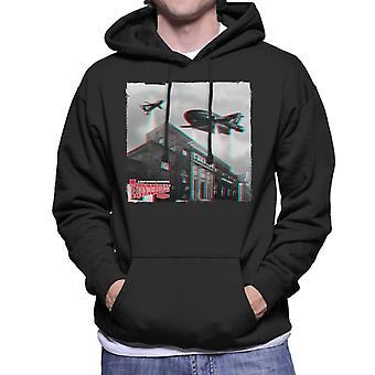 Thunderbirds 2 And 3 Flying Over Granada Studios Men's Hooded Sweatshirt