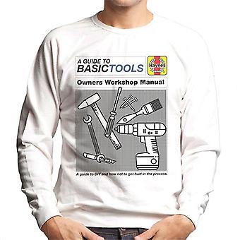 Haynes Basic Tools Owners Workshop Manual Men's Sweatshirt