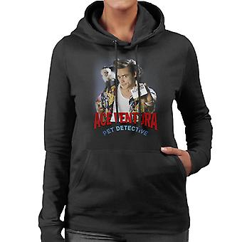 Ace Ventura Pet Detective Monkey And ID Card Women's Hooded Sweatshirt