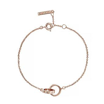Olivia Burton Watches Obj16enb13b The Classic Chain Bracelet Rose Gold