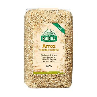 Organic Round Grain Brown Rice 500 g
