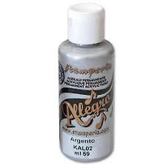 Allegro Paint 59ml Silver (KAL02)