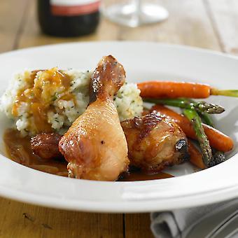 Golden Valley Frozen British Roast Chicken Drumsticks