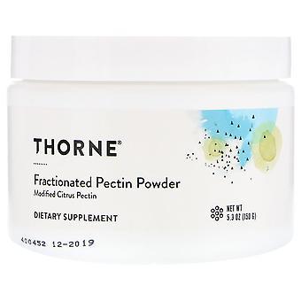 Thorne Research, Polvo de pectina fraccionado, 5.3 oz (150 g)