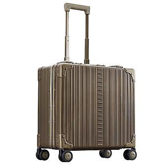 "ALEON DELUXE Wheeled Business Case 17"" Kabinentrolley 44 cm 4 Rollen, Bronze"