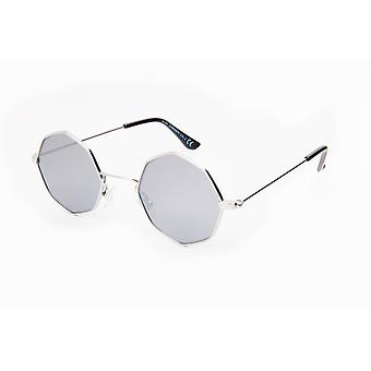 Solglasögon Unisex Cat.3 silver/grå (19-097)