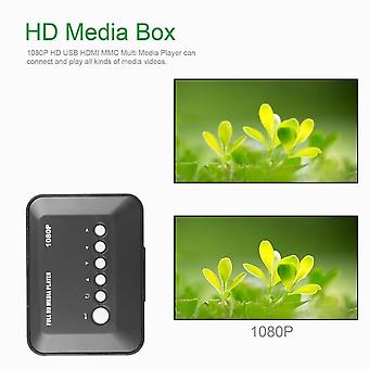 1080p Full Hd Sd/mmc Video Tv Rmvb Mp3 Multi Tv Usb Hdmi Media Player con telecomando