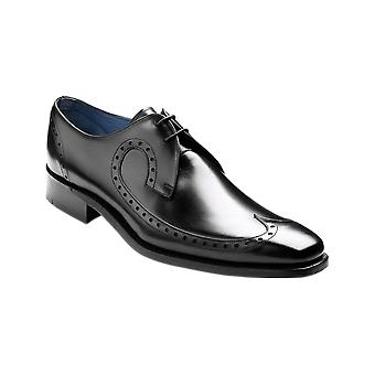 Barker Woody - Black Calf  | Mens Handmade Leather Derby | Barker Shoes