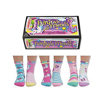 United odd socks fairytale friends socks
