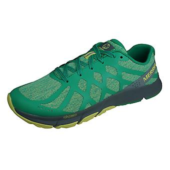 Merrell Bare Access Flex 2 Damen Trail Lauftrainer / Schuhe - Mint