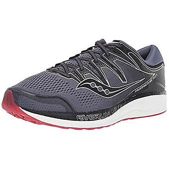 Saucony Men Hurricane ISO 5 Running Shoe Grey / Nero 11,5 M