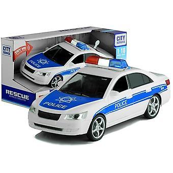 Politie speelgoedauto - met verlichting - 24x8x9,5 cm - schaal 1:16