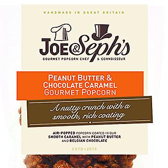Peanut Butter & Chocolate Popcorn