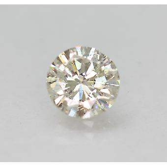 Zertifiziert 0.91 Karat I VS2 Round Brilliant Enhanced Natural Loose Diamond 6.22mm