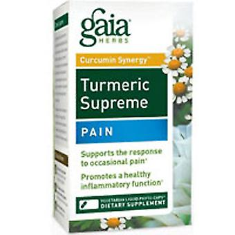 Gaia Herbs Turmeric Supreme, Pain 120 Caps