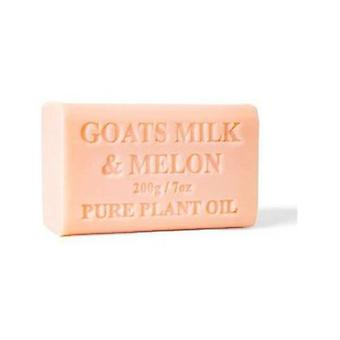 2X 200G Goats Milk Soap And Melon Goat Bar Skin Care