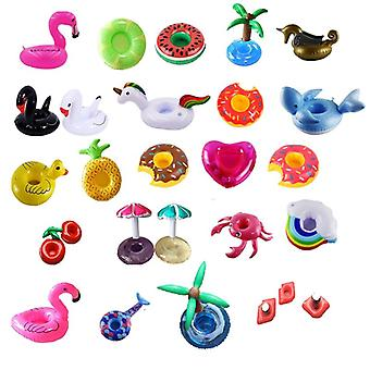Mini Cute Fanny Flamingo Floating Drink Cup Holder Swimming Pool Bathing Beach