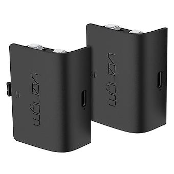Genopladeligt batteri twin pack - sort (xbox serie x / s)