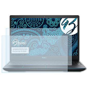 Bruni 2x suojalasi yhteensopiva Dell G3 15 3500 Suojakalvon kanssa